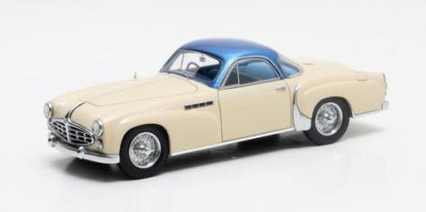 MX50408-011 Delahaye 235 Coupe Chapron creme and blue 1953
