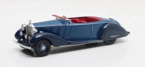 MX51705-181 RR Phantom III Sport Torpedo Thrupp & Maberly #3BU86 blue 1938