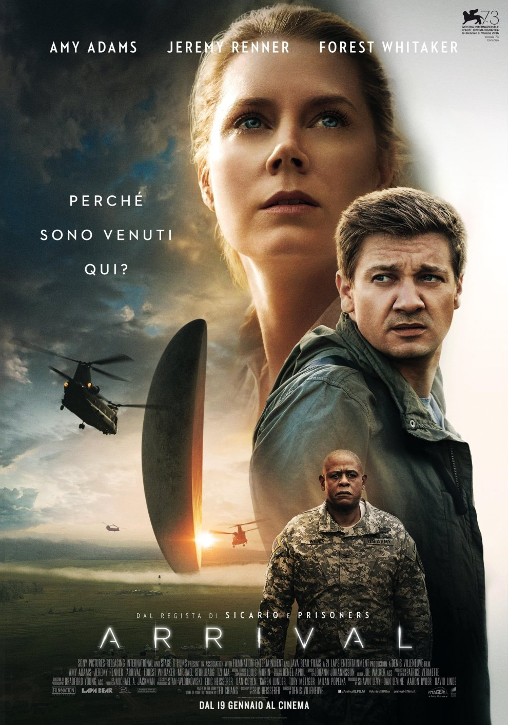 "Poster for the movie ""Arrival"""