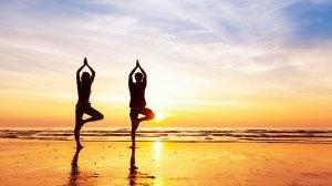 Free outdoor community yoga