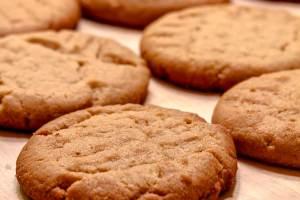 Fifteen Minute Three Ingredient Peanut Butter Cookies