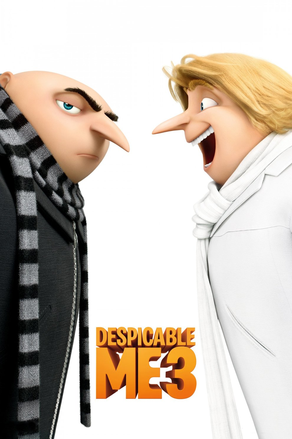 """Poster for the movie """"Despicable Me 3"""""""