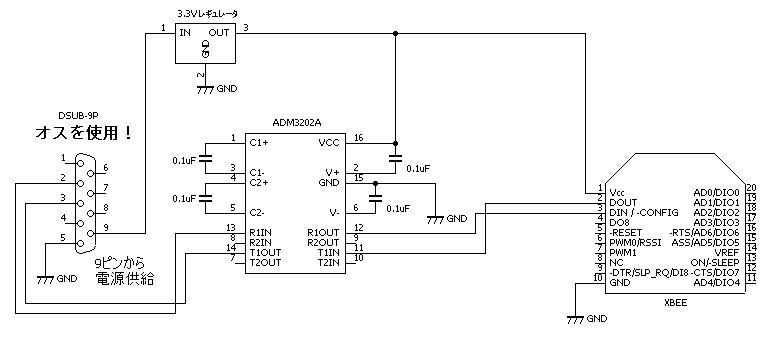 Jp Wiring Diagram Xbeeの使い方(6) Xbee基板を作る