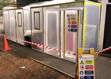Asbestos Enclosure