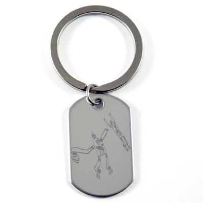 Porte-clés Porter avec dessin d'enfant