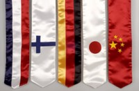 International Flag Sashes for Graduation // Office of ...