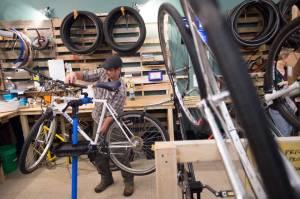 mark hall revolutions bike shop photo