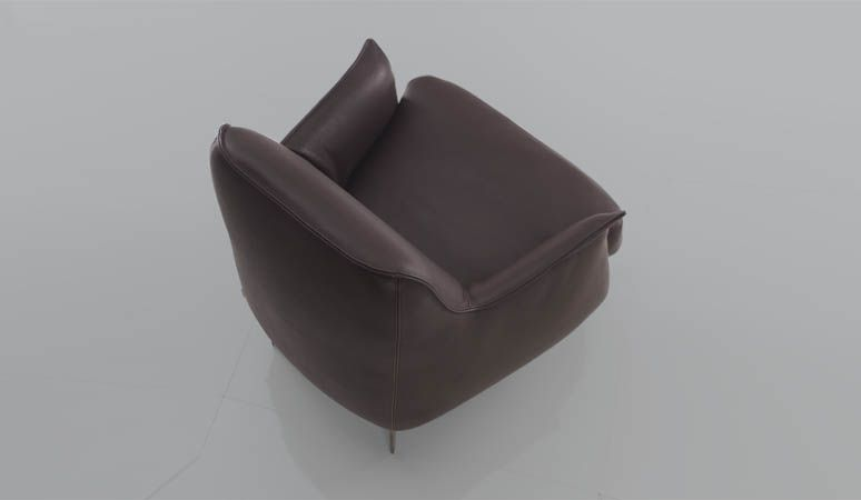 best back cushion for office chair stool cushions cierre boheme fixed armchair large at marquis qsquare