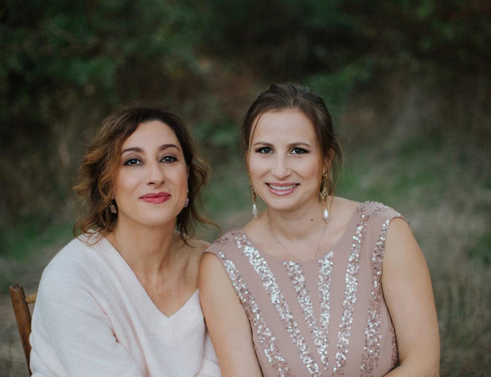 Michela Baccaro e Giusy Lagravinese