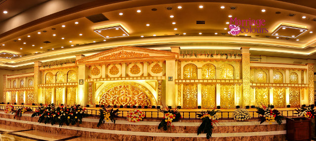 themed decoration at ramachandra convention centre