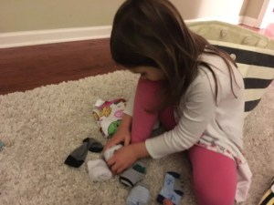 Zoey Folding Socks