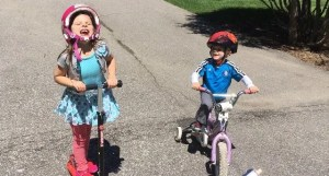 Hill Kids Biking
