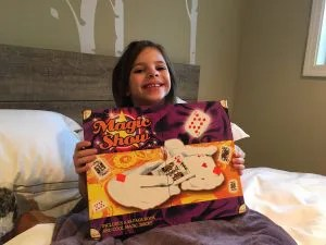 Zoey and Her New Magic Kit