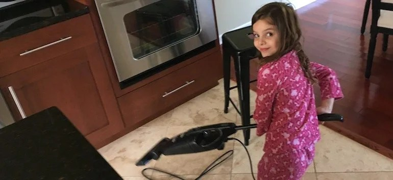 How to Get Your 5-Year Old To Do Chores