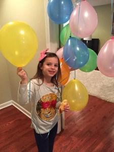 Zoey on her 6th birthday
