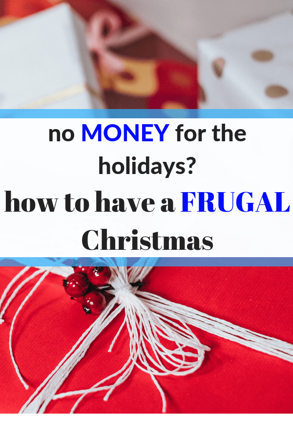 How to have a cheap Christmas. Cheap gifts. Cheap gifts for kids. Frugal Christmas. Frugal holidays. #Christmas #holidays #money #personalfinances #gifts