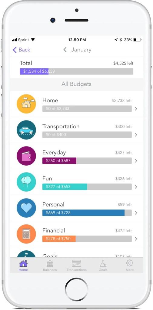 Honeyfi app budget