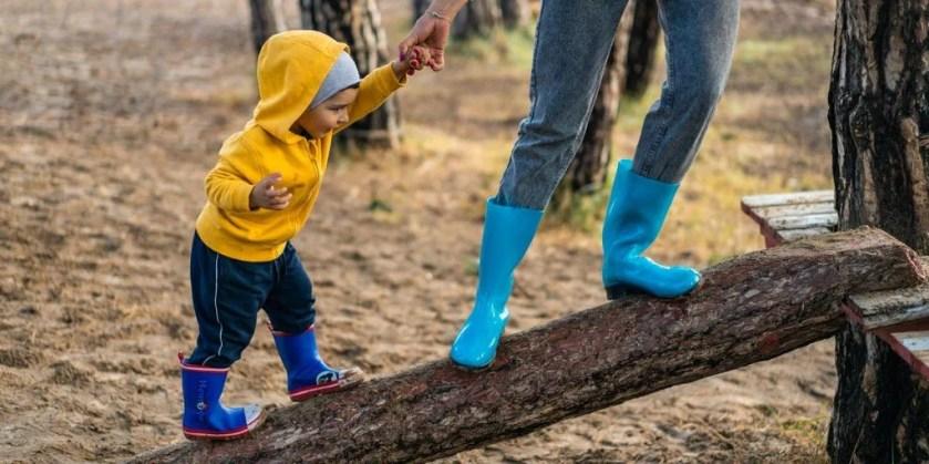baby financial goals climbing tree