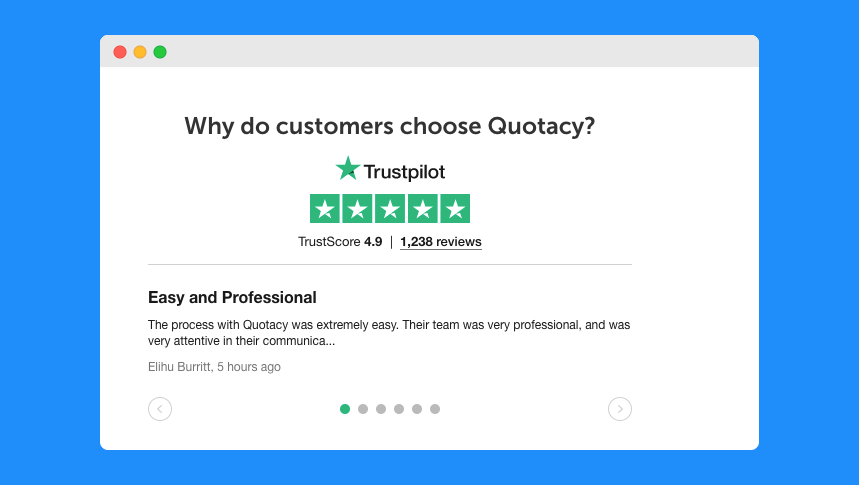 Trustpilot Customer Service Rating