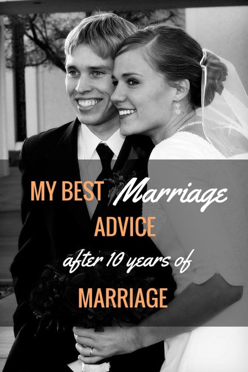 My best marriage advice after 10 years of marriage.You can't provide solutions to all your spouse's problems, nor can you expect them to solve yours.  But you can be each others soft place to land.