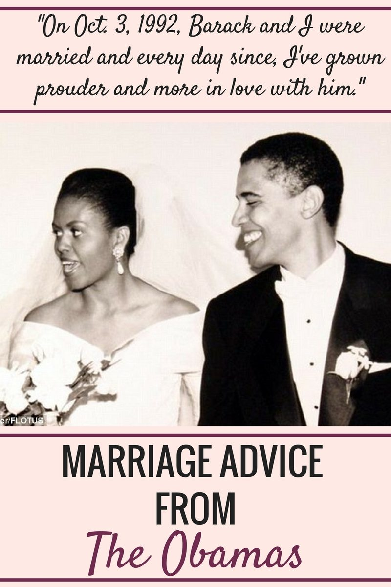 Are the obamas happily married