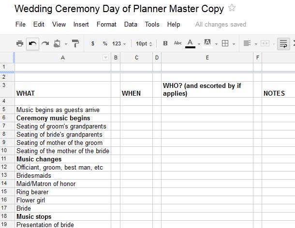 Methodist Wedding Ceremony Outline