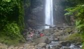 Posing at Falls