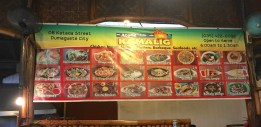 Janet's fave resto in Dumaguete.