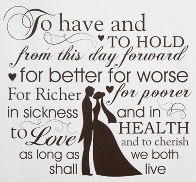 Image result for marriage vows