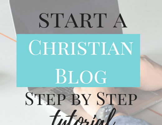 How to start a blog. Step by Step to start a Christian Blog. Wordpress. Faith inspired Bloggers.