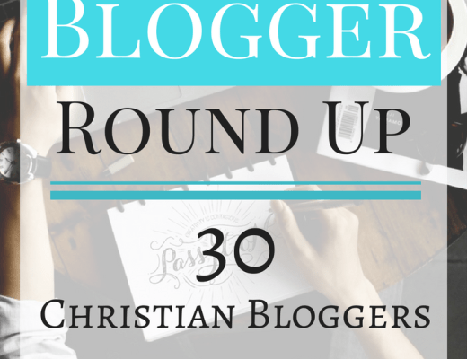 The Blogger Round Up - Christian Women Bloggers to follow. Inspiring, Christ centered, Faith Bloggers,