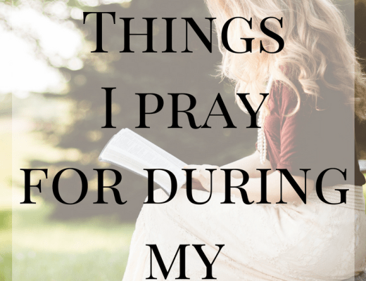 9 Things I Pray for During My Pregnancy