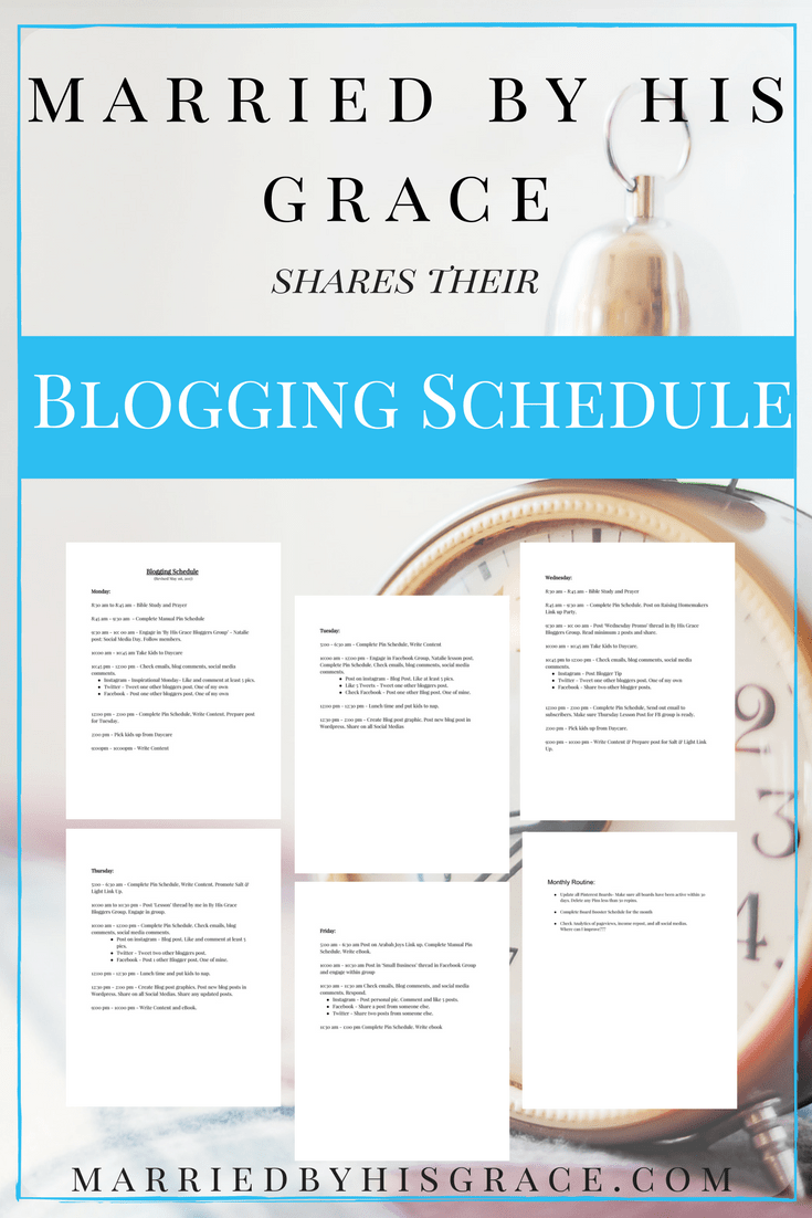 How to Block Schedule for Bloggers? Building a blog. Creating a blog schedule.