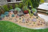 My weekend project: A new rock garden.