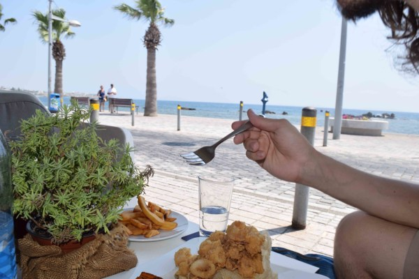 Taking In Cypriot Food
