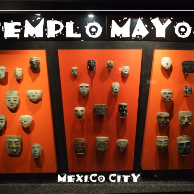 Mexico City Tenochtitlan Mask Wall