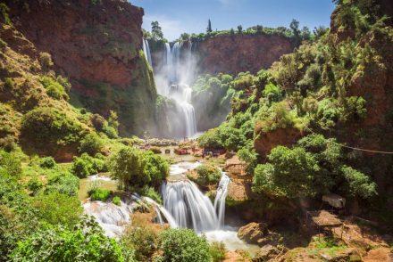 Cascatas de Ouzoud em Marrocos • O Paraíso a 150km de Marraquexe