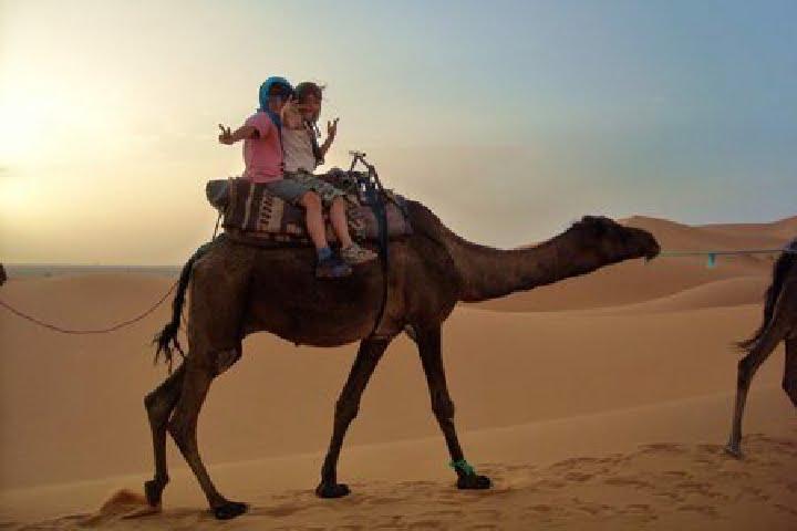 Viajes niños con familia a Marruecos