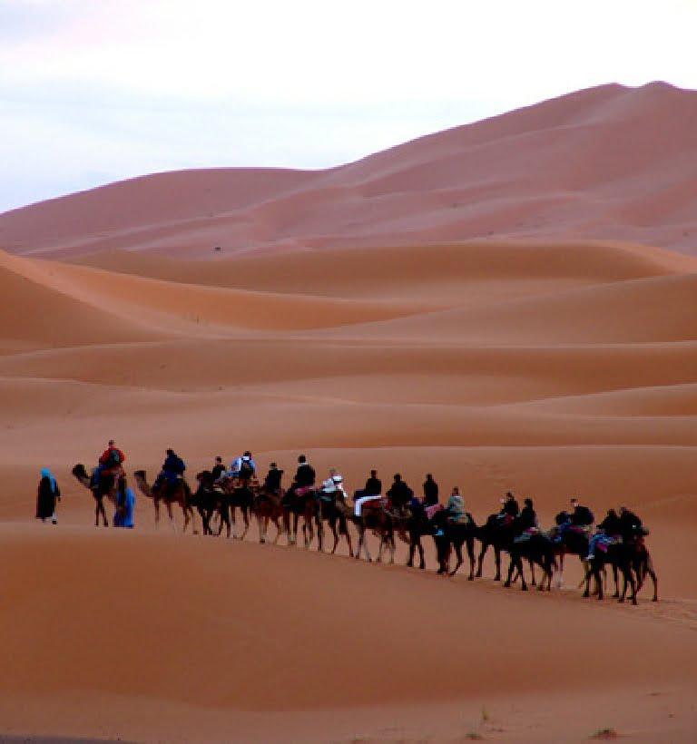 Ruta 4 días desde Marrakech al desierto de Merzouga