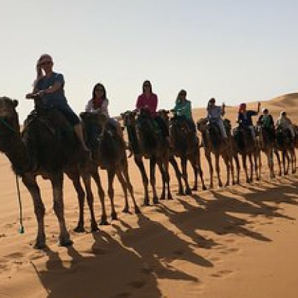 Ruta 8 días desde Nador a Marrakech vía al desierto de Merzouga