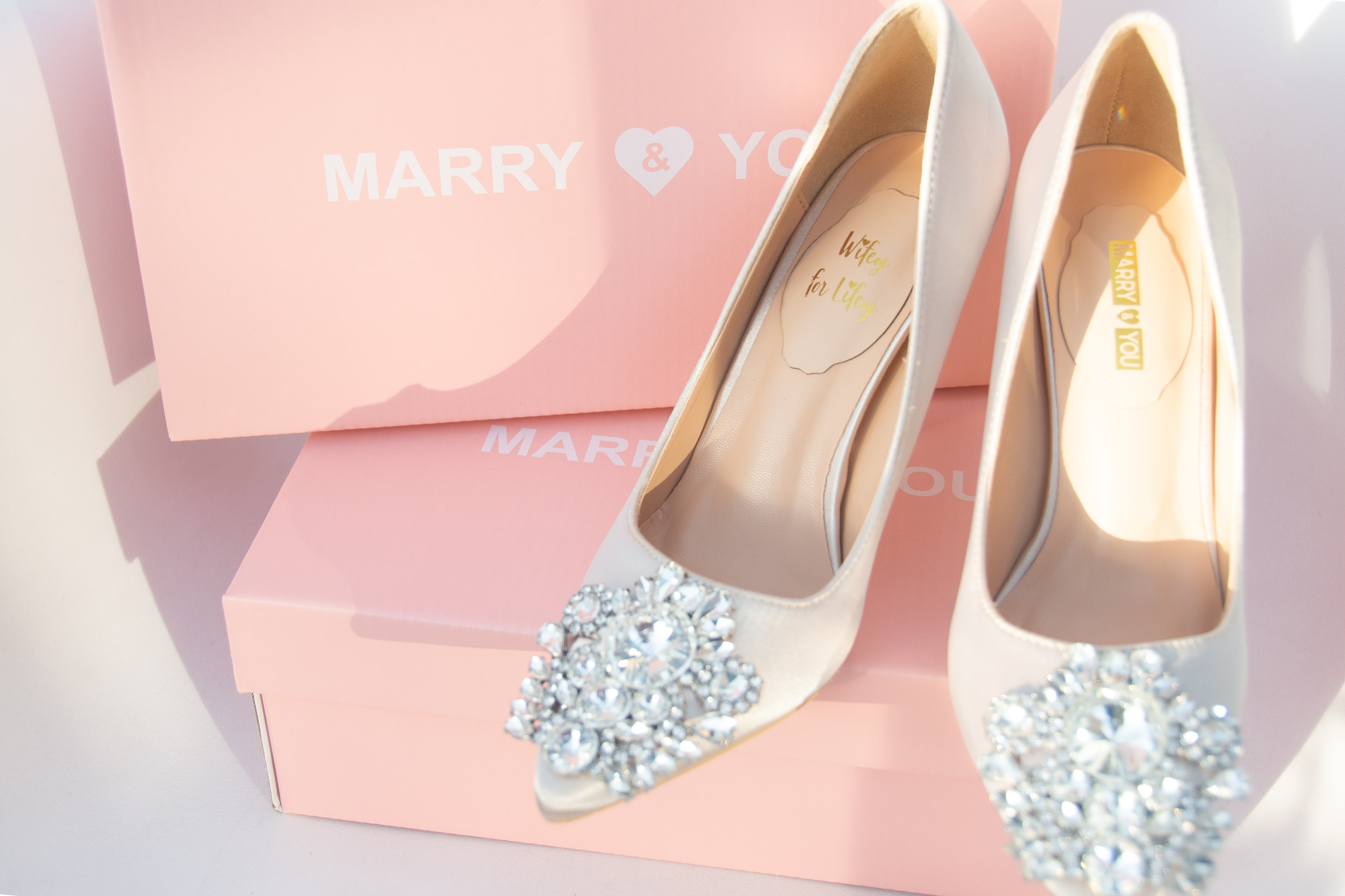 Brautschuh Ivory  Marry  You