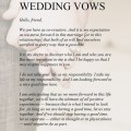 Vows well i think all wedding vows are romantic cute zombie