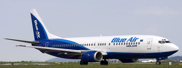 Blue Air garantirà dallAeroporto Trapani/Birgi il volo quadrisettimanale da e per Torino