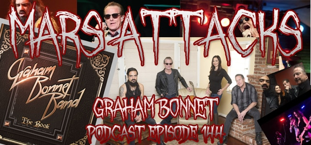 Podcast Episode 144 – Graham Bonnet