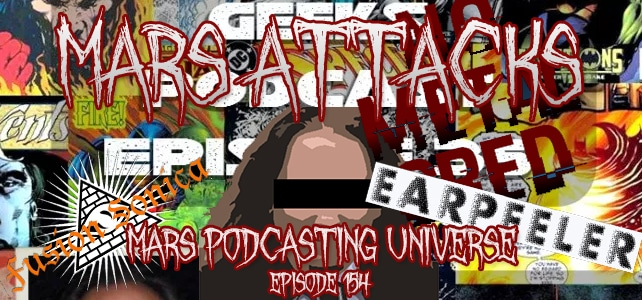 Podcast Episode 154 – Mars Podcasting Universe