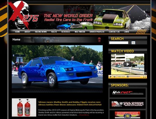 x275 Drag Radial Website, Visit The Series Here