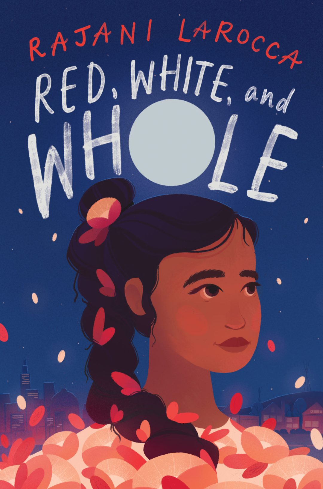 Red, White and Whole middle grade novel book cover
