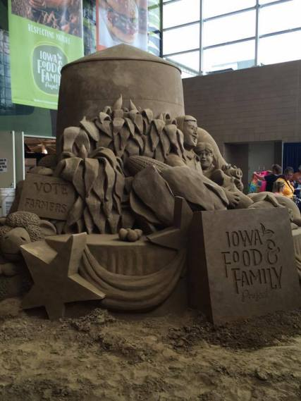 Iowa State Fair Sand Sculpture