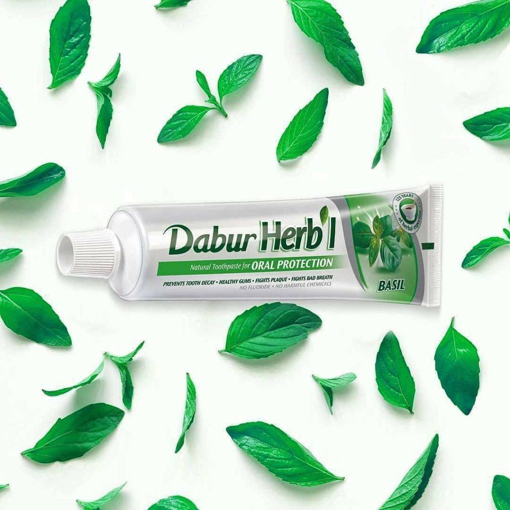 Зубная паста Базилик, Herb`L, Dabur