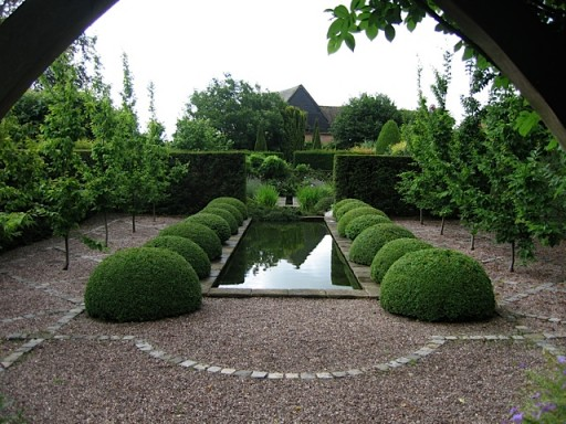 Formal Garden Water Feature 512384 Marsh Flatts Farm
